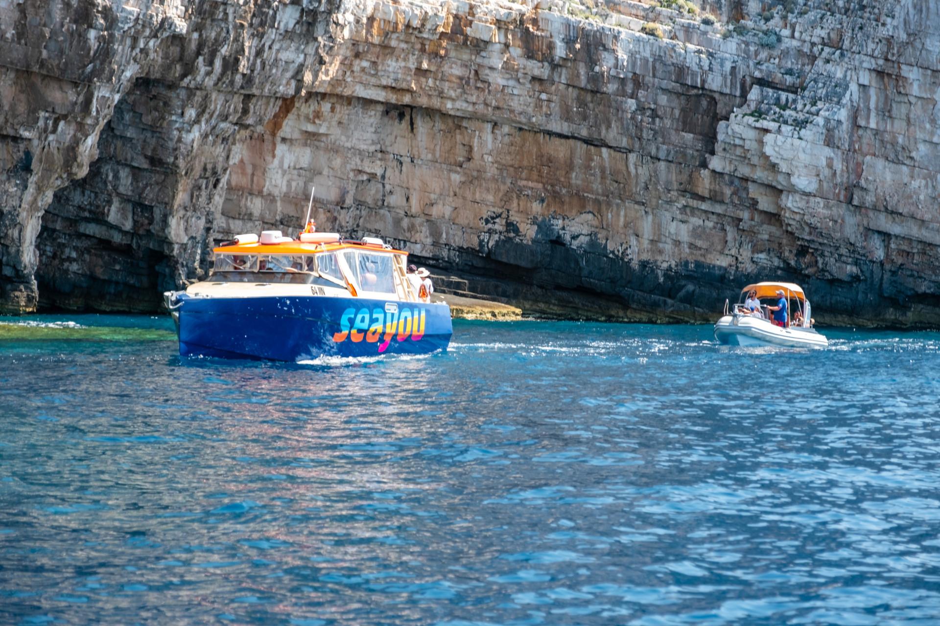 Boat tours from Split