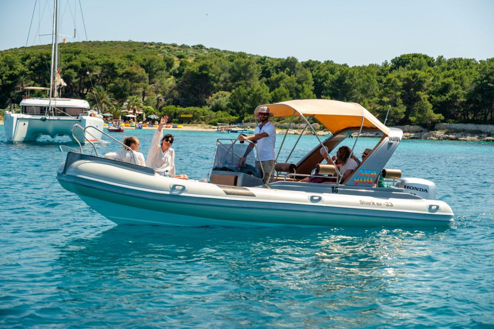 Brac boat rental