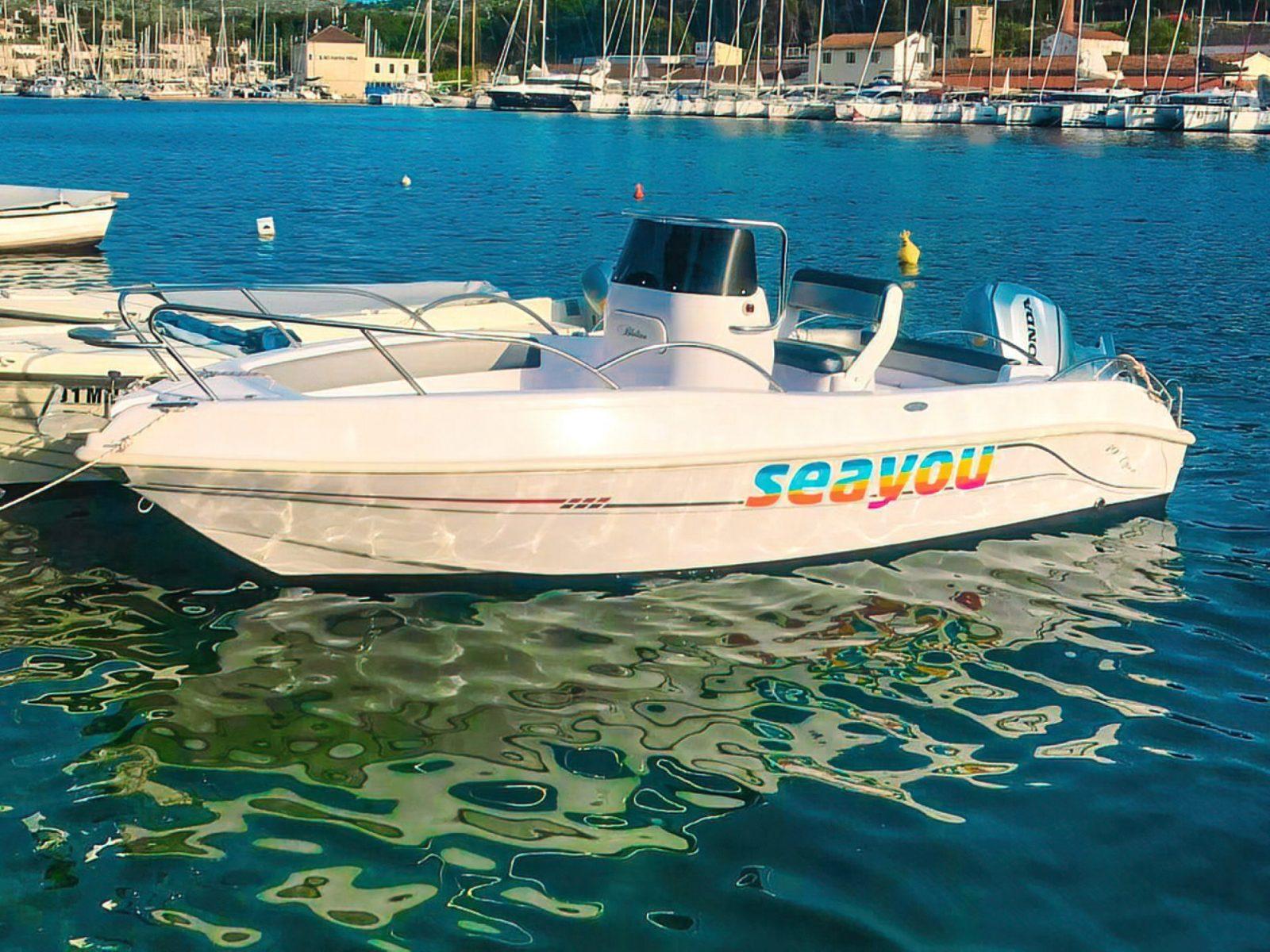 Boat rental Brac