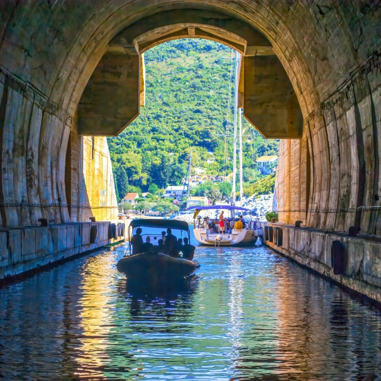 Kruscica tunnel on Brac island