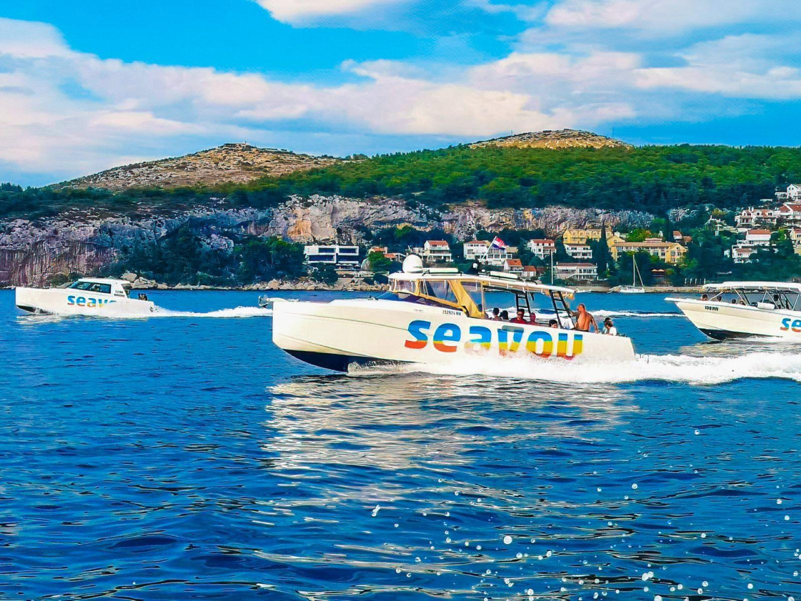 Boat tour Split